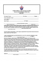 CAL Player Liability Waiver – Fill in Form 18-19